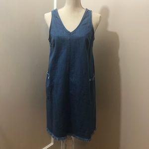 Jean Dress with Pockets